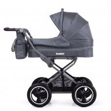 Универсальная прогулочная коляска TILLY Family T-181 Grey серый