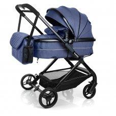 Детская универсальная коляска Bambi M 3895-4 синий