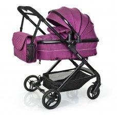 Детская универсальная коляска Bambi M 3895-9 фиолетовый