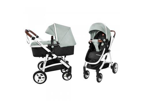 Детская универсальная коляска прогулочная 2в1 CARRELLO Fortuna CRL-9001/1 Forest Green