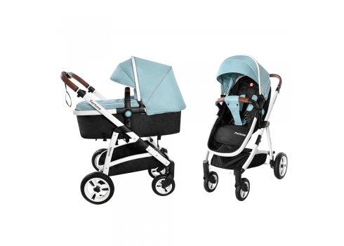Детская универсальная коляска прогулочная 2в1 CARRELLO Fortuna CRL-9001/1 Hawaii Blue