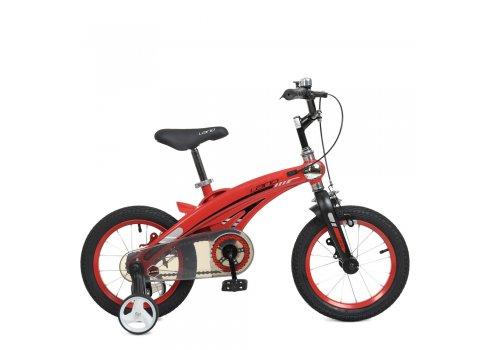 Детский двухколесный велосипед Projective 12 дюймов WLN1239D-T-3F красный