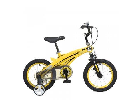 Детский двухколесный велосипед Projective 12 дюймов WLN1239D-T-4F желтый