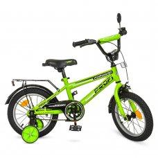 Детский двухколесный велосипед Profi Forward 12 дюймов, T1272 салатовый