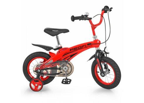 Детский двухколесный велосипед на магниевой раме Projective Profi 12 дюймов, LMG12123 красный