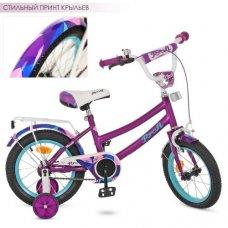 Детский двухколесный велосипед Geometry Profi 12 дюймов, Y12161 фиолетовый матовый