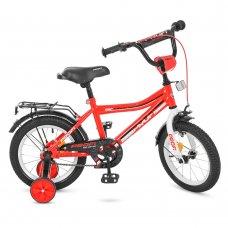 Детский двухколесный велосипед Top Grade Profi 14 дюймов, Y14105 красный