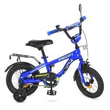 Детский двухколесный велосипед Profi Space 14 дюймов, T14151 синий
