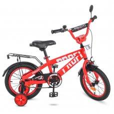 Детский двухколесный велосипед Profi Flash 14 дюймов, T14171 красный