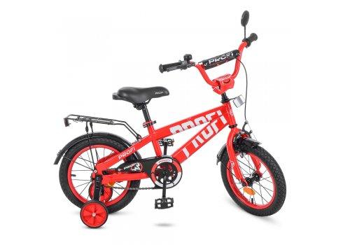 Детский двухколесный велосипед Profi Flash 14 дюймов T14171 красный