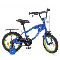 Детский двухколесный велосипед Profi Treveler 14 дюймов Y14182 синий