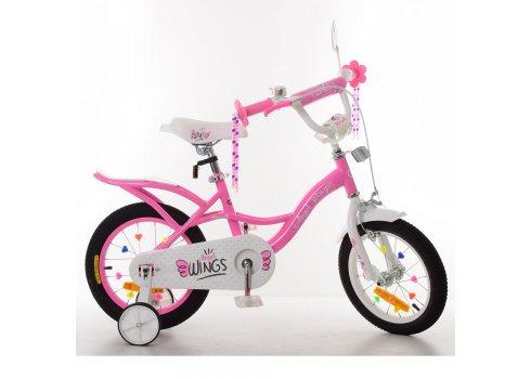 Детский двухколесный велосипед Profi Angel Wings 14 дюймов SY14191