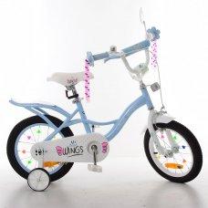 Детский двухколесный велосипед Profi Angel Wings 14 дюймов SY14196