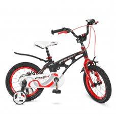 Детский двухколесный велосипед Profi Infinity 14 дюймов на магниевой раме LMG14201