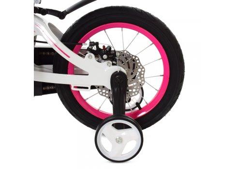 Детский двухколесный велосипед Profi Infinity 14 дюймов на магниевой раме LMG14204