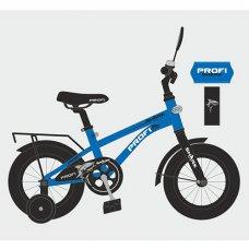 Детский двухколесный велосипед 14 дюймов PROFI Shark Y14212 синий