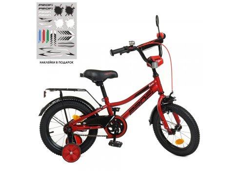 Детский двухколесный велосипед Profi Prime 14 дюймов Y14221