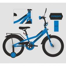Детский двухколесный велосипед 14 дюймов PROFI Prime Y14223 синий