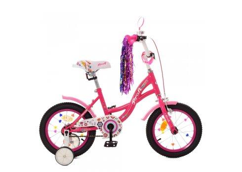 Детский двухколесный велосипед Profi Bloom 14 дюймов Y1423-1