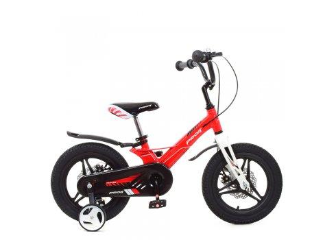 Детский двухколесный велосипед 14 дюймов PROFI Hunter LMG14233 красный