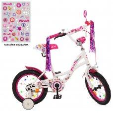 Детский двухколесный велосипед Profi Bloom 14 дюймов Y1425