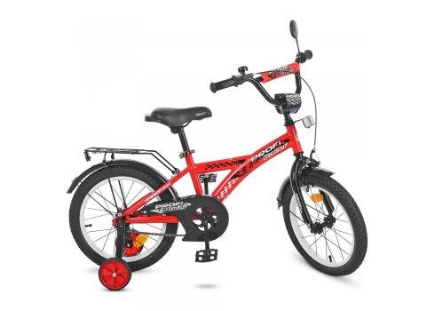 Детский двухколесный велосипед Profi Racer 14 дюймов, T1431 красный