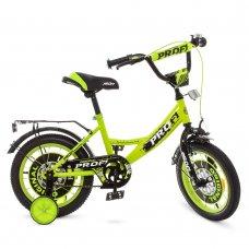 Детский двухколесный велосипед Profi Original boy 14 дюймов Y1442 салатовый