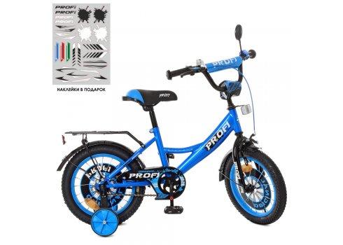Детский двухколесный велосипед Profi Original boy 14 дюймов XD1444