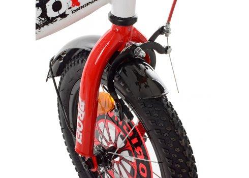 Детский двухколесный велосипед Profi Original boy 14 дюймов XD1445 бело-красный