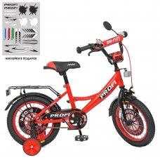 Детский двухколесный велосипед Profi Original boy 14 дюймов XD1446 красный