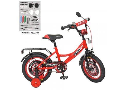 Детский двухколесный велосипед Profi Original boy 14 дюймов XD1446