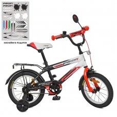 Детский двухколесный велосипед Profi Inspirer 14 дюймов SY1455