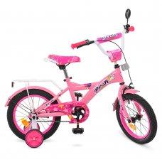 Детский двухколесный велосипед Profi Original girl 14 дюймов, T1461 розовый