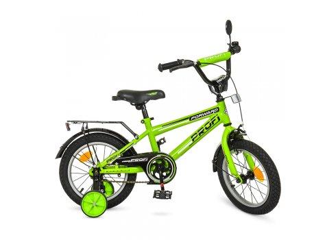 Детский двухколесный велосипед Profi Forward 14 дюймов, T1472 салатовый
