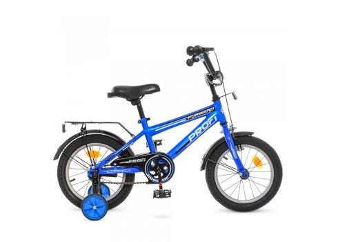 Детский двухколесный велосипед Profi Forward 14 дюймов, T1473 синий