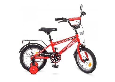 Детский двухколесный велосипед Profi Forward 14 дюймов, T1475 красный