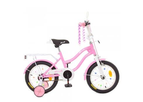 Детский двухколесный велосипед Profi Star 14 дюймов XD1491 розовый