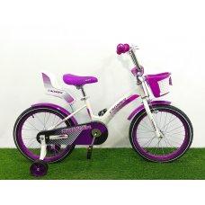 Двухколесный велосипед Crosser Kids Bike 14 дюймов фиолетовый