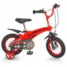 Детский двухколесный велосипед Projective Profi 14 дюймов, LMG14123 красный