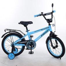 Детский двухколесный велосипед Forward Profi 14 дюймов, T1474 голубой