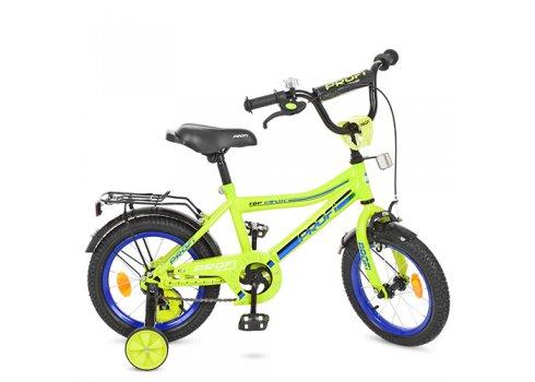 Детский двухколесный велосипед Profi Top Grade 16 дюймов Y16102 салатовый