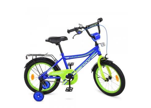 Детский двухколесный велосипед Profi Top Grade 16 дюймов Y16103 синий