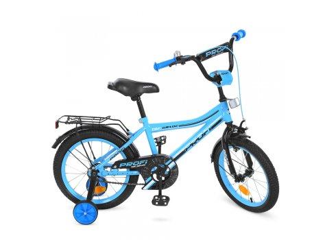 Детский двухколесный велосипед Profi Top Grade 16 дюймов Y16104 бирюзовый