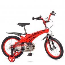 Детский двухколесный велосипед на магниевой раме Profi Projective 16 дюймов LMG16123 красный