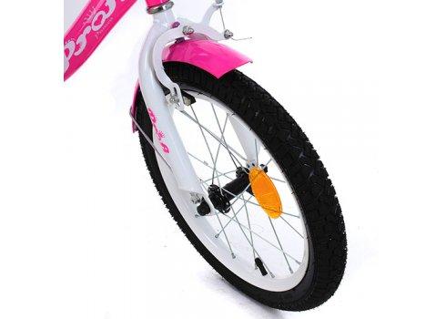 Детский двухколесный велосипед Profi Princess 16 дюймов Y1613 малиновый