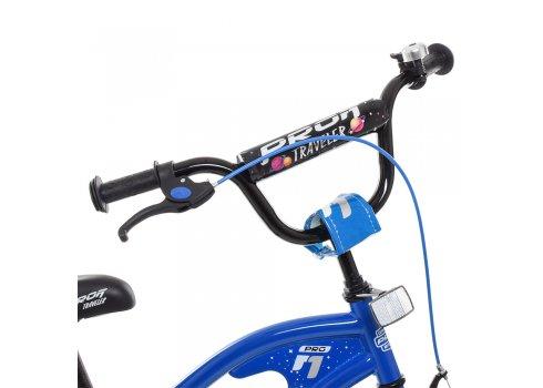 Детский двухколесный велосипед Profi Traveler 16 дюймов Y16182 синий