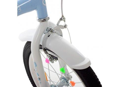 Детский двухколесный велосипед 16 дюймов Profi Angel Wings SY16196 голубой