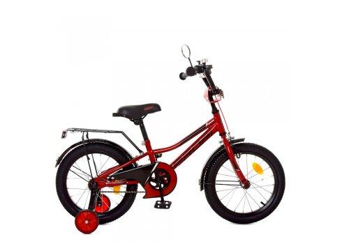 Детский двухколесный велосипед 16 дюймов Profi Prime Y16221 красный