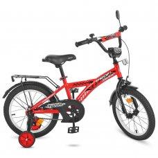 Детский двухколесный велосипед Profi Racer 16 дюймов T1631 красный
