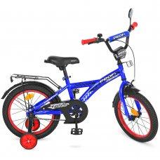 Детский двухколесный велосипед Profi Racer 16 дюймов T1633 синий